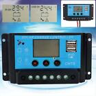 10A 20A LCD Display PWM Panel Regulator Solar Charge Controller 12V 24V Timer SS