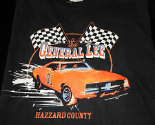 THE DUKES OF HAZZARD COUNTY VTG. TEE XL (46-48)~THE GENERAL LEE~WARNER BROTHERS