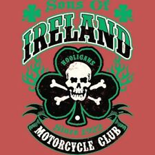 Sons of Ireland Hooligans Motorcycle Club T Shirt You Choose Style, Size, Color