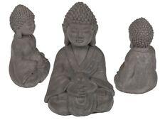 Sitting Buddha Indoor Garden Outdoor Statue Cement Ornament