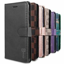RFID Blocking Leather Wallet Case for Samsung Galaxy A01 (USA Version) + Screen