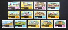 Nieves 1981 DEFINITIVES & funcionarios 13 valores a $10 como se muestra U/M FP7674