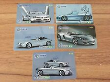 Collectable Phonecards. 5 Silver Supercar Phonecards #2