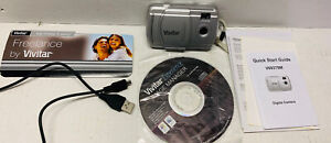 Vivitar Digital Camera V6 9379M. All Paperwork Disk And Cable Included