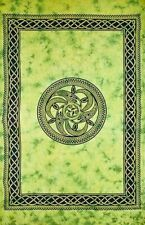 """Tapestry """"Celtic Chakra"""" Green 69 x 108 - FREE SHIPPING"""