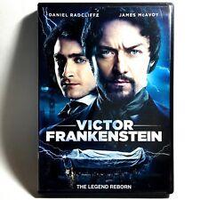 Victor Frankenstein (DVD, 2015, Widescreen)  Daniel Radcliffe