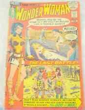 Diana Prince as Wonder Woman Comic Book No. 198