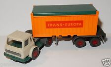 RARE WIKING HO 1/87 IH INTERNATIONAL HARVESTER CONTAINER SZ TRANS EUROPA