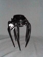 "Yankee Candle Halloween Tall 5"" BLACK SPIDER Tea Light Holder"