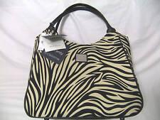 Liz Claiborne $200 Zebra Animal Print Handbag Tote NWT