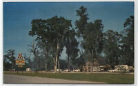 FLORIDA-GEORGIA KAMPGROUNDS~KOA~LAKE PARK,GEORGIA POSTCARD