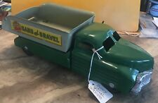 Awesome 1940 Vintage Buddy L Sand and Gravel Dump Truck All ORIGINAL !!!! RARE