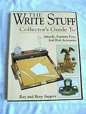 The Write Stuff : Collector's Guide to Inkwells, Fountain Pens and Acc - Jaegers
