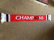 "2010/11 Manchester United ""Campeones 19"" Bufanda futbol Premier League"