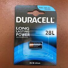 NEW Duracell 28L 6V Lithium Photo Battery PX28L 2CR-1/3N L544 2CR13252