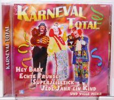 Karneval Total + CD + Fasching + Tolles Album 18 Fetenhits mit Stimmungsgarantie