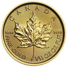 2017 $5 Gold Canadian Maple Leaf .9999 1/10 oz Brilliant Uncirculated