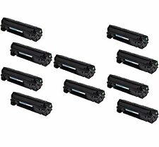 10-Pack Pk CE285A 85A 285A Toner Cartridge For HP LaserJet P1102 P1102W M1212NF
