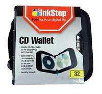 NEW CD Holder DVD Case Storage Wallet 32 Disc Organizer Blu-ray Media Holder