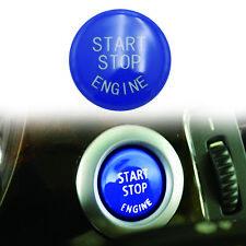 Blue Engine Start Stop Switch Button Cover Fit for BMW E60 E70 E83 E84 E90 E92