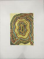 Man Ray Lithographie CM 50x65 Signature au Crayon Certifié Avec Authentic