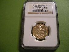 1976 Guyana Gold 100 Dollar - Arawak Indian - NGC PF69 Ultra Cameo