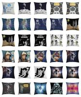 Space Astronaut Throw Pillow Cases Cushion Covers Home Decor 8 Sizes Ambesonne
