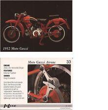 Carte de collection InLine N° 33 Moto Guzzi Airone 1952 Card