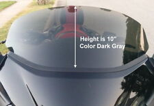 "HONDA GL1800 GOLDWING F6B 2013-UP 15"" TALL, DARK GRAY REPLACEMENT WINDSHIELD"