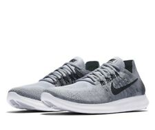 Nike FREE RN FLYKNIT 2017 UK 8 EU 42.5 Running Grey