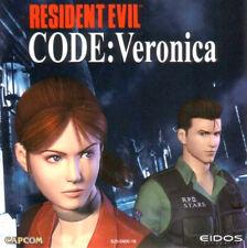 Sega Dreamcast Spiel - Resident Evil: Code Veronica (mit OVP) (USK18) (PAL)