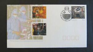 1991 75th Anniv Commonwealth Serum Laboratory Pre-Stamped Envelope FDI ASC E263