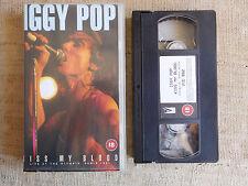 Iggy Pop – Kiss My Blood Live At The Olympia, Paris 1991 - cassetta video VHS