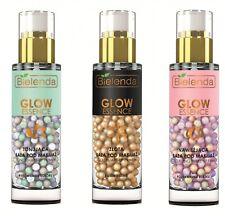 Bielenda Face Make Up Primer Glow Essence Pearl Gel Very Light Makeup Base 30g