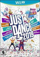 Just Dance 2019 WiiU - Brand New Factory Sealed - Free Shipping!