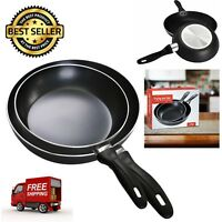 """2Pcs Aluminum Frying Pan Set Oven Safe Nonstick Kitchen Cookware 8"""" and 10"""" NEW"""