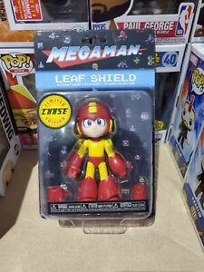 MEGAMAN LEAF SHIELD LIMITED EDITION CHASE ACTION FIGURE RARE