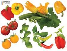 Aufkleber Sticker Wandaufkleber Wandsticker Dekor Gemüse Paprika Küche Möbel