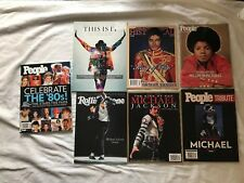 7 Magazines With Micheal Jackson