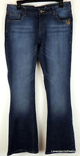 G-Unit Clothing Co. Juniors 11 Stone Washed Boot Cut Jeans Jewel Rhinestone