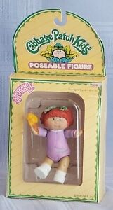 CABBAGE PATCH KIDS POSEABLE FIGURE, SECOND EDITION, DOB 1/1/85, 1984, NIB, NRFB