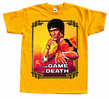 BRUCE LEE Game of death Ver. 2 Movie poster T SHIRT all sizes S to 5XL