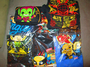 Marvel Collector Corps Funko Pop T-Shirt Lot 8 XL/L X-Men Zombies Loki + MORE