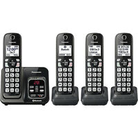 Panasonic KX-TGD564M Link2Cell Cordless Phone with Answering Machine, 4