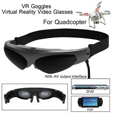 Widescreen HD Video Glasses Detachable Noise Reduction Stereo Earphone Mic 2D