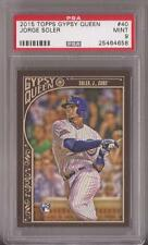 2015 Topps Gypsy Queen #40 Jorge Soler RC-Rookie Cubs graded PSA 9 Mint
