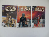 Dark Horse Comics  Star Wars A New Hope Special Edition SET OF 3 #'s 2 3 4