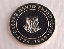 10 Mark Caspar David Friedrich DDR 1974 Silber 17 Gr Großer Maler Romantik GDR