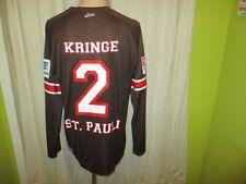 FC St.Pauli DoYou Football Langarm Matchworn Trikot 2012/13 + Nr.2 Kringe Gr.L