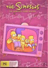The SIMPSONS: The COMPLETE Season 3 DVD TV SERIES BRAND NEW 4-DISCS BOX SET R4